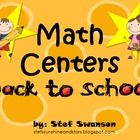 {BACK to SCHOOL} Math Centers aligned with Common Core State Standards! This Packet Includes: 2 Non-Standard Measurement Centers, Spin to Add with Tally Marks Center, Number Cover Up adding to 6 Center and more! This packet was created with kindergarten and first grade in mind.