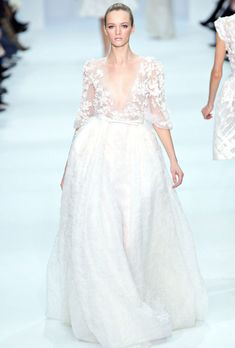 So elegant ! I love the pastels and detail on the new Elie Saab Spring Line