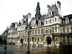 Hôtel de Ville - Paris, France