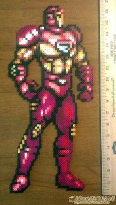 sandylandya@outlook.es  Iron Man perler bead sprite by Hirosspriteshop on Etsy