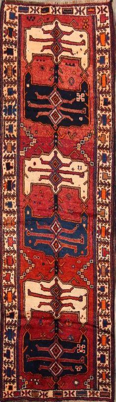 4 x 10. $388 Kitchen Rug, Wool Area Rugs, Persian, Oriental, Bohemian Rug, Vintage, Kitchen Carpet, Kitchen Mat, Wool Carpet