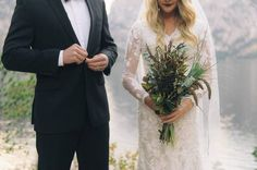 Outdoor wedding inspiration set amongst the stunning Tetons National Park by Jenny Losee