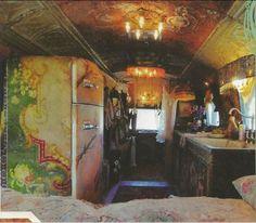 magnolia pearl trailer | Magnolia Pearl's 1972 Airstream Trade Wind and Rolls Royce