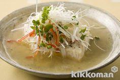 蒸し魚のあんかけ 香味野菜のせ