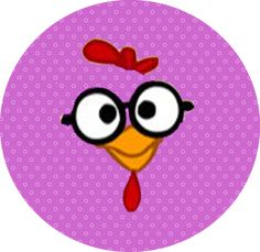 Lottie Dottie, Ideas Para Fiestas, Coq, Party Printables, Holidays And Events, Pink Purple, Rooster, Lily, Clip Art