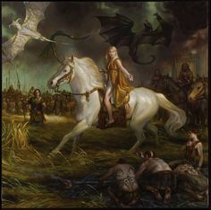 Donato Giancola - Mother of Dragons: Daenerys Targaryen