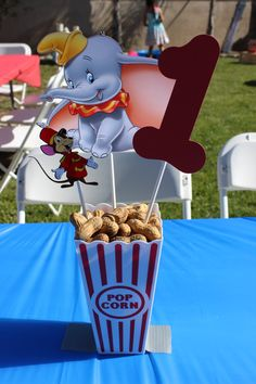 Dumbo Birthday Party Centerpiece Circus by OohLaLaPartyDeco
