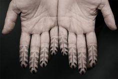 A Japanese Tattoo Artist's Striking Geometric Stipple Tattoos - The Minneapolis Egotist