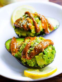 Deviled Avocado.