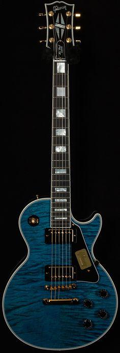 Gibson Benchmark Limited Run Les Paul Custom Guitar Pics, Jazz Guitar, Cool Guitar, Guitar Room, Gibson Les Paul, Bass Ukulele, Guitar Chords, Bass Guitars, Acoustic Guitars