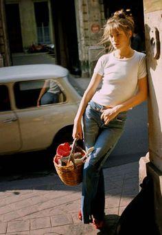 Trouv' Ton Style : JANE BIRKIN #ICON #JEANS #STYLE
