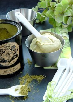 Green Tea Ice Cream Recipe - Matcha Tea Ice Cream Dessert - Ice Cream Recipe