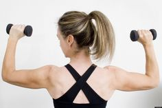 """We may complain about our """"flabby triceps,"""" """"jiggly arms"""" or """"batwings,"""" but some fitness experts will tell you that when it comes to toning these tough spots, you don't even need to start with a set of weights.   &quo..."""