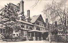 Briarcliff Manor, NY--Lodge was home to Briarcliff College, Edgewood College, and later The King's College