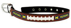 ~Michigan Wolverines Dog Collar - Size Medium~backorder