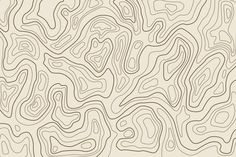 Background With Topography