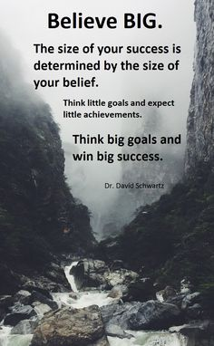 "From ""The Magic of Thinking Big"", best book on success I ever read, by the late Dr. David Schwartz. Here's a quick video to watch if you really want to think big - http://www.thousanddollarcommissions.net #thinkbig #thinkingbig"