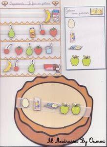 El Juego del pastel Para trabajar la atención y el lenguaje (preparar un pastel de acuerdo a la lista elegida) http://s2.e-monsite.com/2010/05/21/6748685je-fais-un-gateau-pdf.pdf