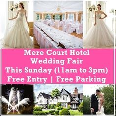 Mere Court Hotel Wedding Fair — This Coming Sunday March Hotel Wedding, Wedding Venues, Wedding Ideas, Spa Day Packages, Wedding Fayre, Free Entry, March, Sunday, Magazine