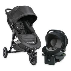 Product Image for Baby Jogger® City Mini GT Travel System in Black 1 out of 5