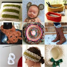 A fun hobby like finger knitting is a great way to spend time being productive. Here are a variety of easy finger knit projects you can easily make at home. Finger Crochet, Easy Crochet, Finger Knitting Projects, Do It Yourself Crafts, How To Purl Knit, Woodworking Projects Diy, Homemade Crafts, Sewing Hacks, Sewing Tips