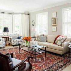 Vidal Living Room Interior Design - traditional - Living Room - Atlanta - TerraCotta Properties