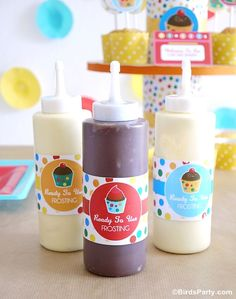 How to Style a Kid-Friendly Baking Party by Bird's Party
