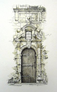 de la Coste, Grezels, Lot, France I love travel sketches. Reminds me of a sketch trip in the south of France. Shared by Bleck Consulting.I love travel sketches. Reminds me of a sketch trip in the south of France. Shared by Bleck Consulting. Art And Illustration, Drawing Sketches, Art Drawings, Drawing Ideas, Sketches Arquitectura, Art Graphique, Urban Sketching, Art And Architecture, Architecture Drawing Sketchbooks