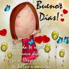 Buenos Dias  http://enviarpostales.net/imagenes/buenos-dias-1189/ Saludos de Buenos Días Mensaje Positivo Buenos Días Para Ti Buenos Dias