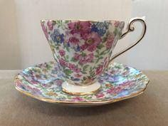 Royal Standard Fine Bone China England Floral Cup & Saucer   Pottery & Glass, Pottery & China, China & Dinnerware   eBay!