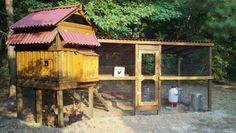 Steadfast's Chicken Coop - BackYard Chickens Community
