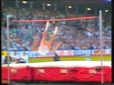 Top 10 high jumpers of all time (men) - YouTube