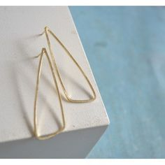 Triangle/handmade by Fleurfatale/Goldplated Silver