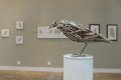 driftwood menagerie--crow | by urban-objects
