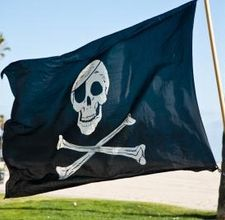 Pirate flag.. I want for my truck ha