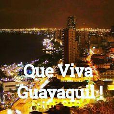 Que viva Guayaquil !  Y sus 196 años de historia  Tierra de gente grande gente franca sincera y trabajadora  #Guayaquil #PerladelPacifico  #Ecuador