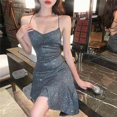 Korean Fashion Dress, Ulzzang Fashion, Kpop Fashion Outfits, Girly Outfits, Classy Outfits, Pretty Outfits, Pretty Dresses, Stylish Outfits, Beautiful Dresses