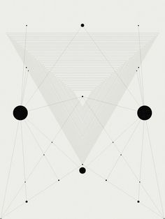 PROCESSINGMATTER:  SOME THINGS ARE BLACK, SOME THINGS ARE WHITE. TRIANGULATION.  (VIA VEERLE-)