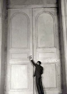 Anthony Perkins in The Trial (1962, dir. Orson Welles)