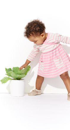 Little toddler pink playdress