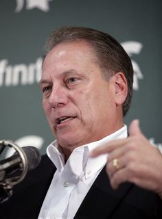 michigan state university basketball | Michigan State coach Tom Izzo addresses reporters during the team's ...