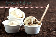 Brown Butter Cookie Ice Cream