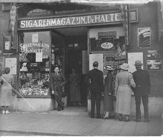 Lange Hilleweg eind jaren 30