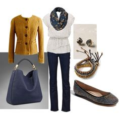 I want this bag! And the bracelet. And the flats. . . okay maybe just the whole outfit!