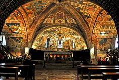 lower basilica st francis assisi - Google Search