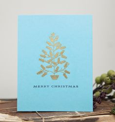 Merry Christmas Card by Ashley Cannon Newell for Papertrey Ink (September 2014)