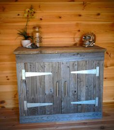 Reclaimed Pallet Wood Cabinet Pallet Cabinets & Wardrobes