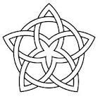 love this design celtic star … Celtic Symbols, Celtic Art, Celtic Mandala, Celtic Circle, Celtic Love Knot, Mayan Symbols, Egyptian Symbols, Ancient Symbols, Celtic Quilt