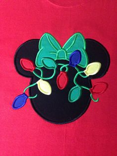 Disney  Minnie with  Christmas lights by CreativeLifeboutique, $20.00
