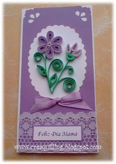 Mother's Day quilling card by Pilys-art